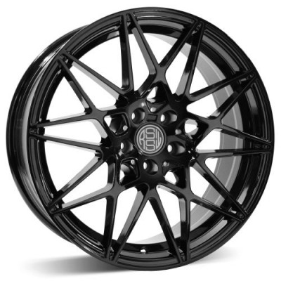 RSSW Super Tourer Gloss Black wheel (18X8, 5x112, 66.46, 33 offset)