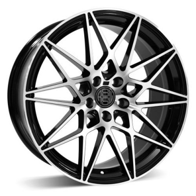 RSSW Super Tourer Machine Black wheel (18X8, 5x112, 66.46, 33 offset)