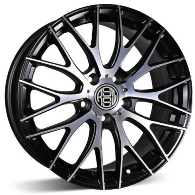 RSSW Touring Machine Black wheel (16X6.5, 5x105, 56.56, 40 offset)