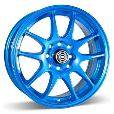 RSSW Velocity Blue wheel (15X6.5, 4x100/114.3, 73.1, 35 offset)