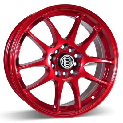 RSSW Velocity Red wheel (15X6.5, 4x100/114.3, 73.1, 35 offset)