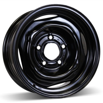 RSSW Steel Wheel Black wheel (14X6, 5x120.65, 70.3, -2 offset)