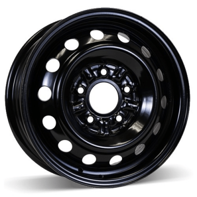 RSSW Steel Wheel Black wheel (14X5.5, 5x114.3, 60.1, 45 offset)