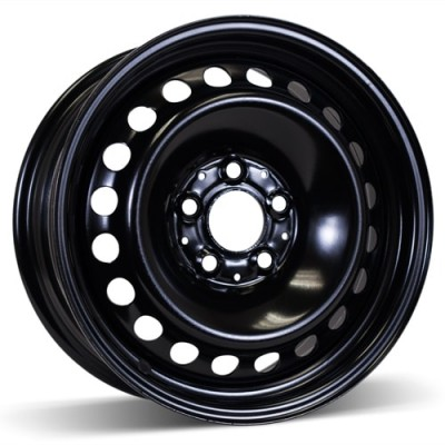 RSSW Steel Wheel Black wheel | 16X6.5, 5x112, 66.6, 49 offset