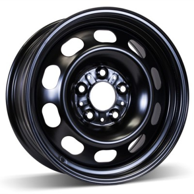 RSSW Steel Wheel Black wheel | 16X7, 5x120, 72.6, 47 offset
