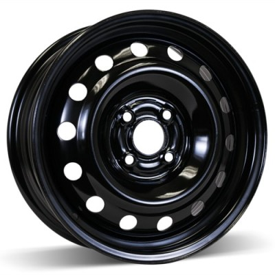 RSSW Steel Wheel Black wheel | 15X6, 4x100, 56.1, 45 offset