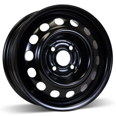 RSSW Steel Wheel Black wheel (14X5.5, 4x100, 56.1, 45 offset)