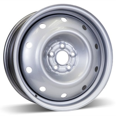 RSSW Steel Wheel Silver wheel | 16X6.5, 5x100, 56.1, 48 offset
