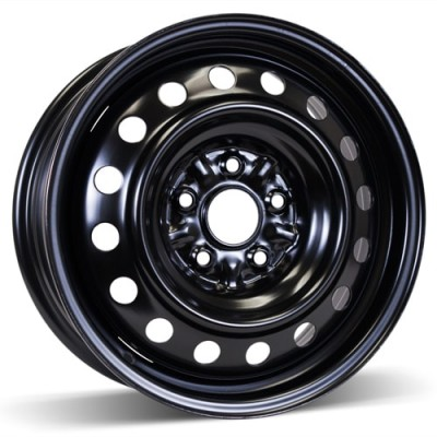 RSSW Steel Wheel Black wheel | 16X6.5, 5x114.3, 60.1, 50 offset