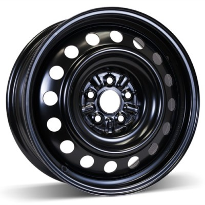 RSSW Steel Wheel Black wheel | 16X6.5, 5x100, 54.1, 45 offset