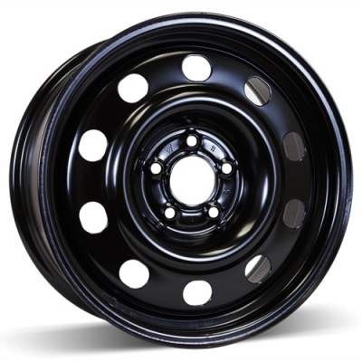 RSSW Steel Wheel Black wheel (17X7.5, 5x114.3, 70.5, 52 offset)