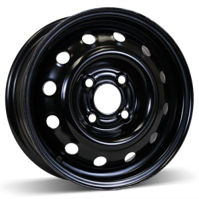 RSSW Steel Wheel Black wheel (13X5, 4x100, 59.1, 40 offset)