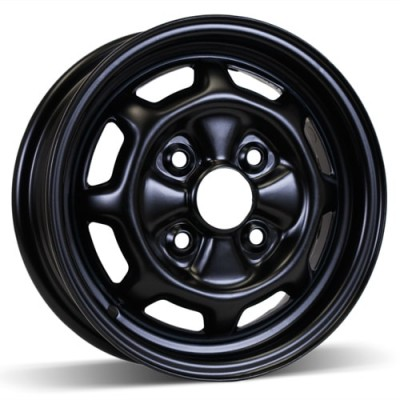 RSSW Steel Wheel Black wheel (13X5, 4x114.3, 67.1, 47 offset)