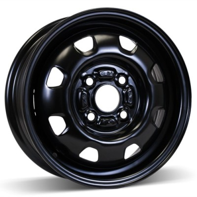 RSSW Steel Wheel Black wheel (13X5, 4x100, 54.1, 46 offset)