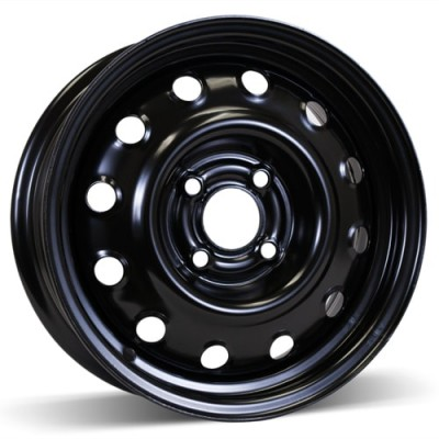 RSSW Steel Wheel Black wheel | 14X5.5, 4x100, 59.1, 44.5 offset