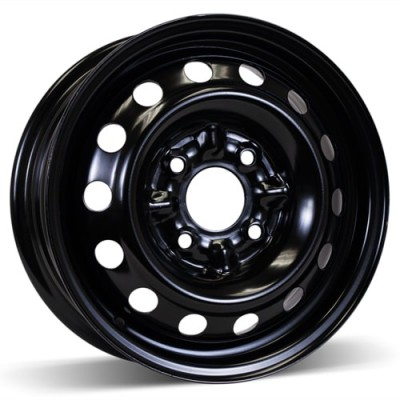 RSSW Steel Wheel Black wheel (14X5.5, 4x114.3, 67.1, 46 offset)