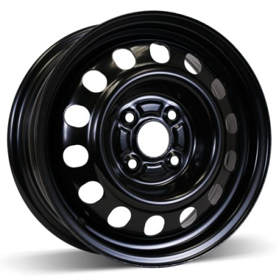 RSSW Steel Wheel Black wheel | 14X5.5, 4x100, 54.1, 45 offset