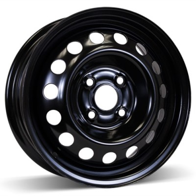 RSSW Steel Wheel Black wheel (14X5.5, 4x100, 54.1, 46 offset)