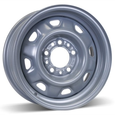 RSSW Steel Wheel Silver wheel (14X5.5, 5x114.3, 70.3, 15 offset)