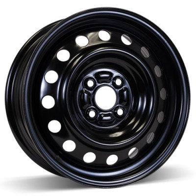 RSSW Steel Wheel Black wheel | 15X6, 4x100, 54.1, 45 offset