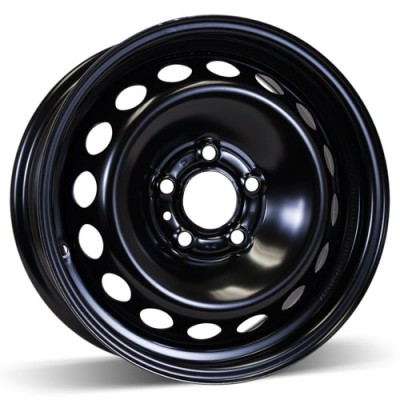 RSSW Steel Wheel Black wheel (15X6.5, 5x108, 65.1, 43 offset)