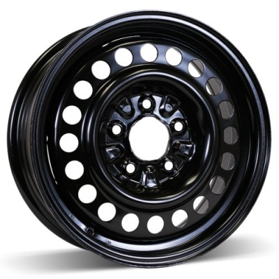 RSSW Steel Wheel Black wheel (15X6, 5x115, 70.3, 42 offset)