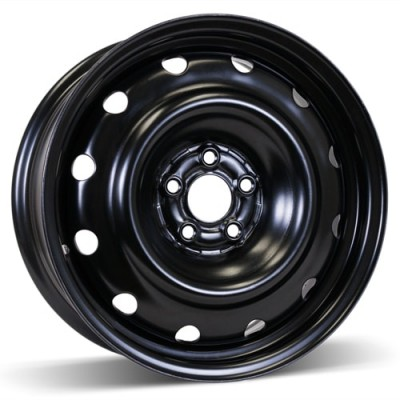 RSSW Steel Wheel Black wheel | 16X6.5, 5x100, 57.1, 40 offset