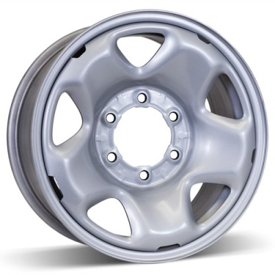 RSSW Steel Wheel Silver wheel | 16X7, 6x139.7, 106, 15 offset