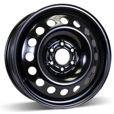 RSSW Steel Wheel Black wheel (17X6.5, 6x114.3, 70.3, 51 offset)