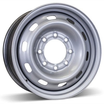 RSSW Steel Wheel Silver wheel | 17X7, 8x165.1, 121, 45 offset
