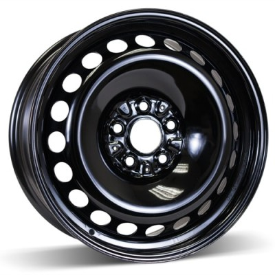 RSSW Steel Wheel Black wheel | 18X7, 5x120, 74.1, 45 offset BLEM