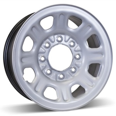 RSSW Steel Wheel Silver wheel (18X8, 8x180, 124, 44 offset)