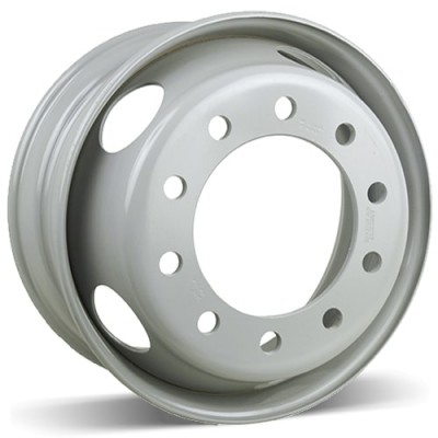 RSSW Steel Wheel White wheel (19.5X7.5, 10x285, 0, 0 offset)