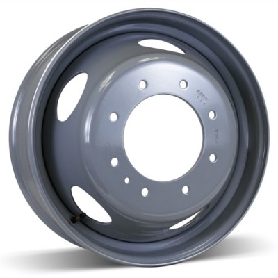 RSSW Steel Wheel Grey wheel (19.5X6, 8x225, 170, 136 offset)