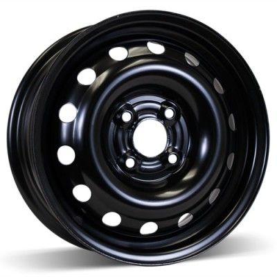 RSSW Steel Wheel Black wheel (14X5.5, 4x100, 57.1, 45 offset)