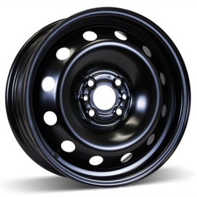 RSSW Steel Wheel Black wheel (15X6, 4x98, 58.1, 35 offset)
