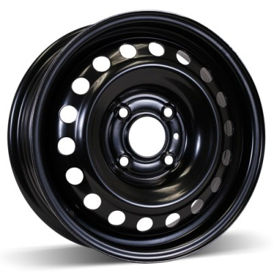 RSSW Steel Wheel Black wheel (15X5.5, 4x114.3, 66.1, 40 offset)