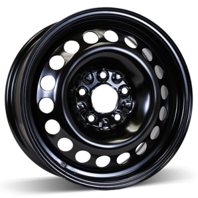 RSSW Steel Wheel Black wheel (15X6, 5x110, 65.1, 41 offset)