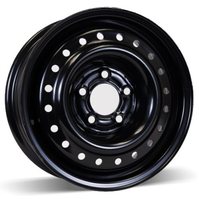 RSSW Steel Wheel Black wheel (15X6, 5x114.3, 71.5, 39 offset)