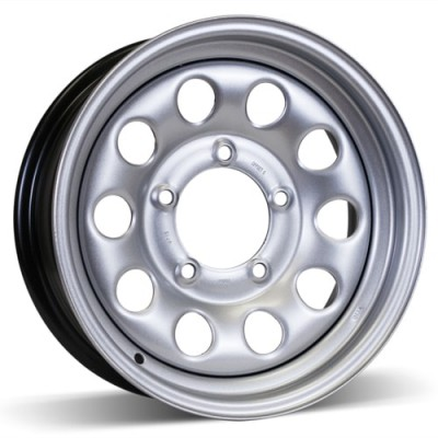 RSSW Steel Wheel Silver wheel (15X5.5, 5x139.7, 109, 5 offset)