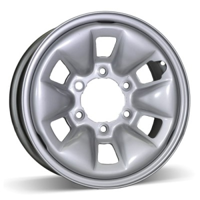RSSW Steel Wheel Silver wheel (15X6, 6x139.7, 106, 41 offset)