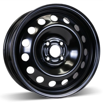 RSSW Steel Wheel Black wheel (16X6.5, 4x100, 56.6, 42 offset)
