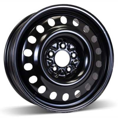 RSSW Steel Wheel Black wheel (17X6.5, 5x114.3, 64.1, 40 offset)