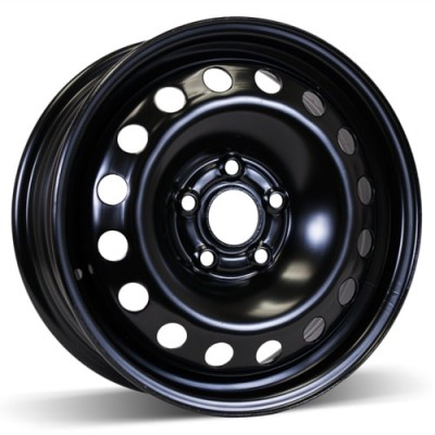 RSSW Steel Wheel Black wheel (15X6, 5x105, 56.6, 36 offset)