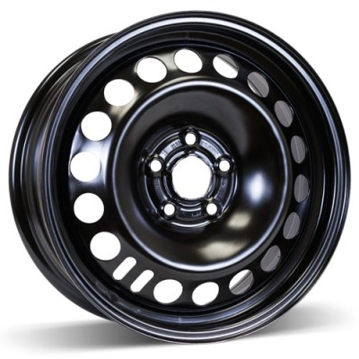 RSSW Steel Wheel Black wheel | 16X6.5, 5x105, 56.6, 39 offset