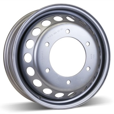 RSSW Steel Wheel Silver wheel (16X5.5, 6x205, 161, 132 offset)