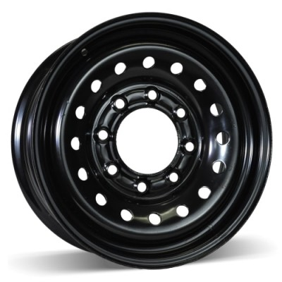 RSSW Steel Wheel Black wheel (16X6.5, 8x165.1, 117, 28 offset)