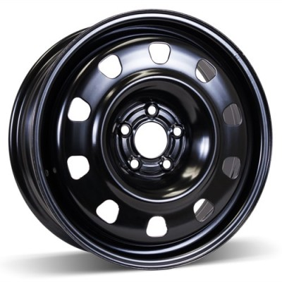 RSSW Steel Wheel Black wheel (17X6.5, 5x110, 65.1, 46 offset)