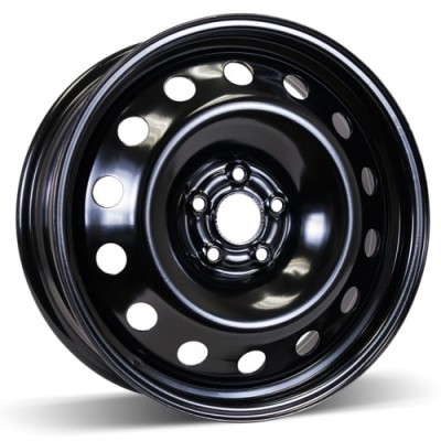 RSSW Steel Wheel Black wheel | 17X6.5, 5x105, 56.6, 39 offset