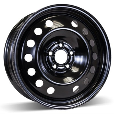 RSSW Steel Wheel Black wheel (17X7, 5x108, 63.4, 52.5 offset)